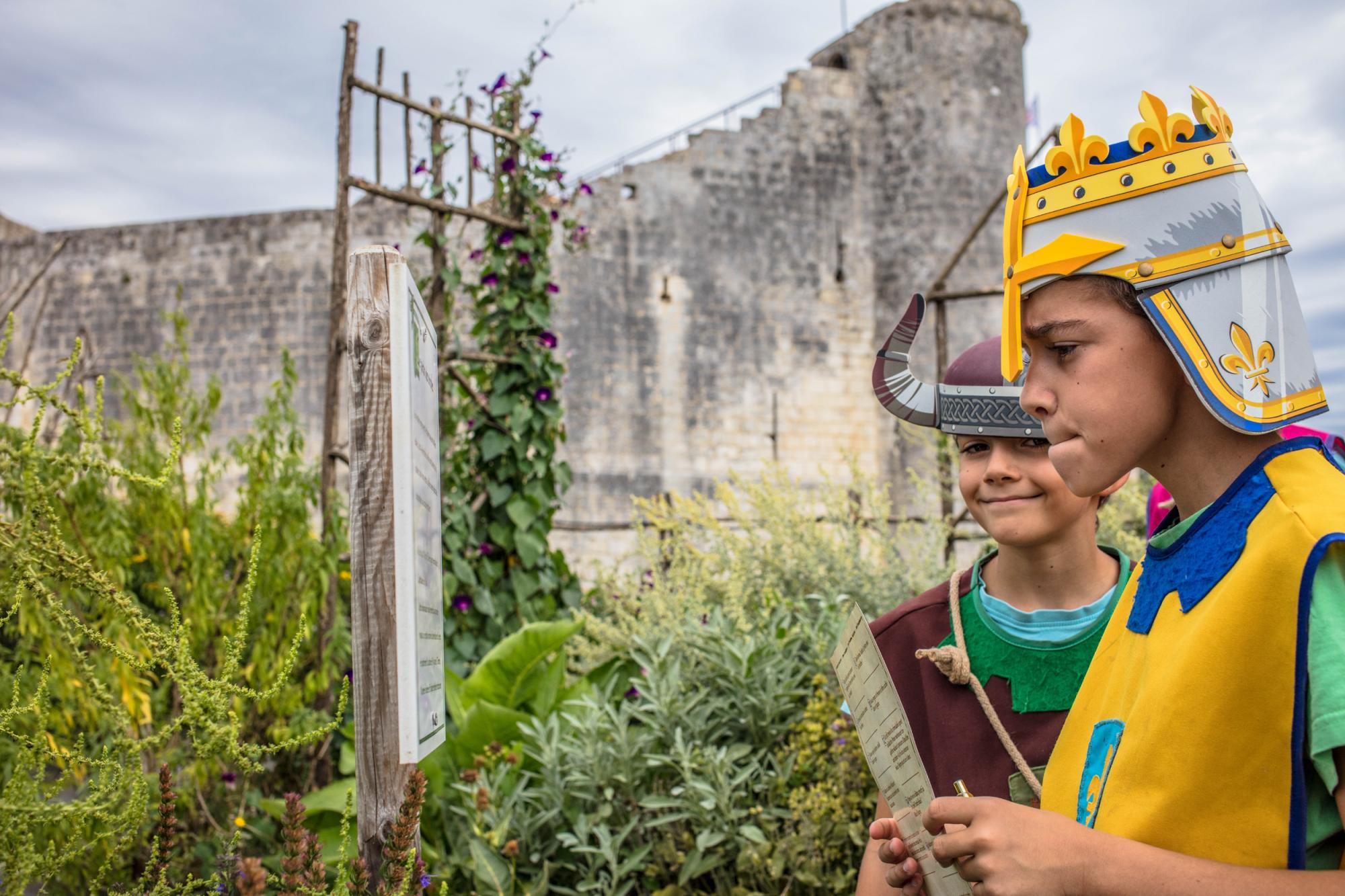 A giant puzzle - Fortified castle and medieval theme park in Charente Maritime